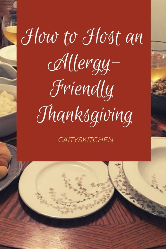 how to host an allergy friendly thanksgiving